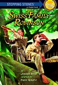 Swiss Family Robinson (Stepping Stone Book Classics) Cover