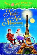 Magic Tree House #35: Night of the New Magicians Cover