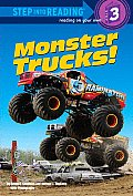 Monster Trucks! (Step Into Reading - Level 3 - Library) Cover