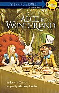Alice in Wonderland (Stepping Stone Books) Cover