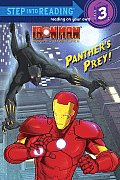 Ironman Armored Adventures: Panther's Prey! (Step Into Reading - Level 3 - Library)