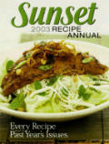 Sunset Recipe Annual 2003