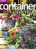 Container Gardening (Sunset Series) Cover