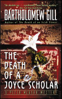 Death of a Joyce Scholar A Peter McGarr Mystery