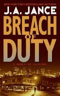 Breach of Duty: A J.P. Beaumont Mystery (J. P. Beaumont Mysteries) Cover