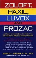 Zoloft Paxil Luvox & Prozac