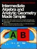 Intermediate Algebra & Analytic Geometry