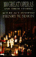 100 Great Operas & Their Stories Act By Act Synopses