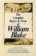 The Complete Poetry and Prose of William Blake Cover
