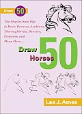 Draw Fifty Horses (Draw 50)
