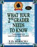 What Your Second Grader Needs To Know 1st Edition