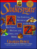 Shakespeare A to Z The Essential Reference to His Plays His Poems His Life & Times & More
