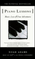 Piano Lessons: Music, Love, and True Adventures Cover