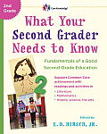 Core Knowledge Series #2: What Your Second Grader Needs to Know: Fundamentals of a Good Second Grade Education Cover