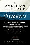 American Heritage Thesaurus 1ST Edition