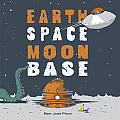 Earth Space Moon Base