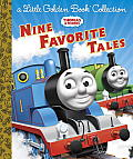 Thomas & Friends: Nine Favorite Tales (Little Golden Book Collections)