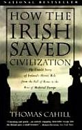 How the Irish Saved Civilization: The Untold Story of Ireland's Heroic Role from the Fall of Rome to Rise of Medieval Europe (Hinges of History) Cover
