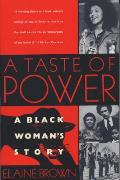 A Taste of Power: A Black Woman's Story Cover