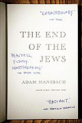 The End of the Jews Cover