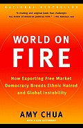 World on Fire: How Exporting Free Market Democracy Breeds Ethnic Hatred and Global Instability Cover