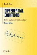 Differential Equations: An Introduction with Mathematica(r)
