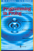 Programming In Prolog 4th Edition