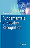Fundamentals of Speaker Recognition Cover