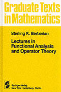 Lectures in Functional Analysis & Operator Theory