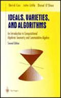 Ideals Varieties & Algorithms 2nd Edition