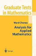 Springer Series on Atomic, Optical, and Plasma Physics #208: Analysis for Applied Mathematics