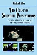 Craft Of Scientific Presentations 1st Edition Critical Steps to Succeed & Critical Errors to Avoid