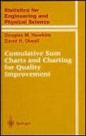 Cumulative Sum Charts and Charting for Quality Improvement (Statistics for Engineering and Physical Science)