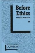 Before Ethics