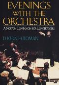 Evenings with the orchestra :a Norton companion for concertgoers