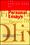 Norton Book of Personal Essays (97 Edition) Cover