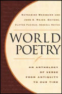 World Poetry: An Anthology of Verse from Antiquity to Our Time Cover