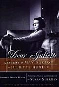 Dear Juliette Letters Of May Sarton To