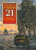 21: The Unfinished Twenty-First Novel in the Aubrey/Maturin Series Cover