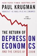 The Return of Depression Economics and the Crisis of 2008 Cover