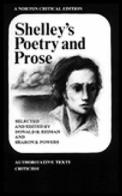 Shelleys Poetry & Prose Authoritative Texts Criticism