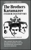The Brothers Karamazov: The Constance Garnett Translation Revised by Ralph E. Matlaw (Norton Critical Edition) Cover