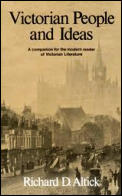 Victorian People & Ideas A Companion for the Modern Reader of Victorian Literature