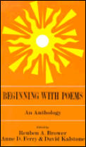 Beginning with Poems: An Anthology