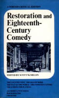 Restoration & Eighteenth Century Comedy