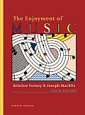 The Enjoyment of Music, Shorter 10th Edition (Part 1)
