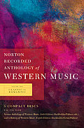Norton Recorded Anthology of Western Music -V2 6 CD's (6TH 10 - Old Edition)
