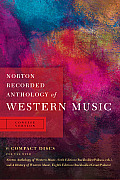 Norton Recorded Anthology Of Western Music 6 Compact Discs