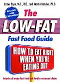 Low Fat Fast Food Guide