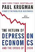 Return of Depression Economics and the Crisis of 2008 (09 Edition) Cover